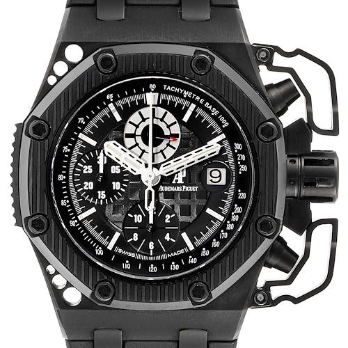 Audemars Piguet Royal Oak Offshore Survivor Chronograph Watch 26165IO Box Papers