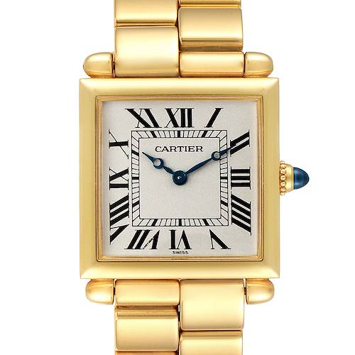 Photo of Cartier Tank Obus 18k Yellow Gold Ladies Watch 1630