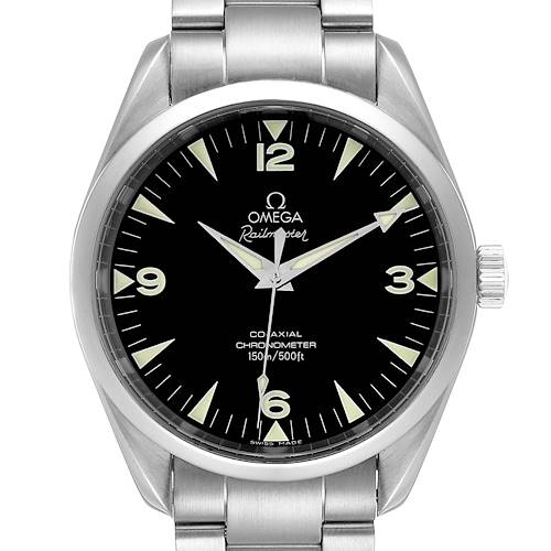 Photo of Omega Aqua Terra Railmaster Co-Axial Steel Mens Watch 2503.52.00