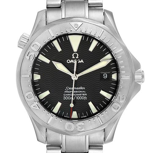 Photo of Omega Seamaster 300M Black Dial Steel Mens Watch 2230.50.00