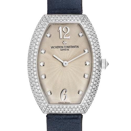 Photo of Vacheron Constantin Egerie White Gold Diamond Ladies Watch 25541