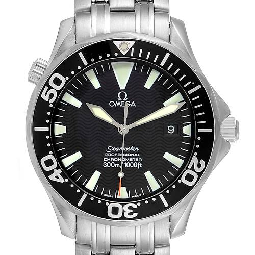 Photo of Omega Seamaster 41 300M Black Dial Mens Watch 2254.50.00
