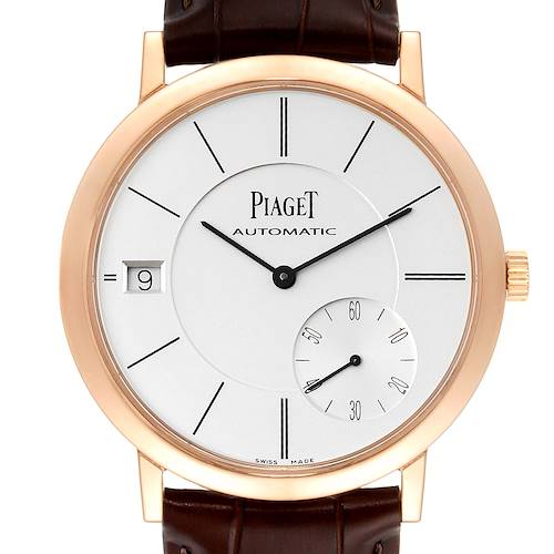Photo of Piaget Altiplano 18K Rose Gold Ultra-Thin Automatic Mens Watch GOA38131