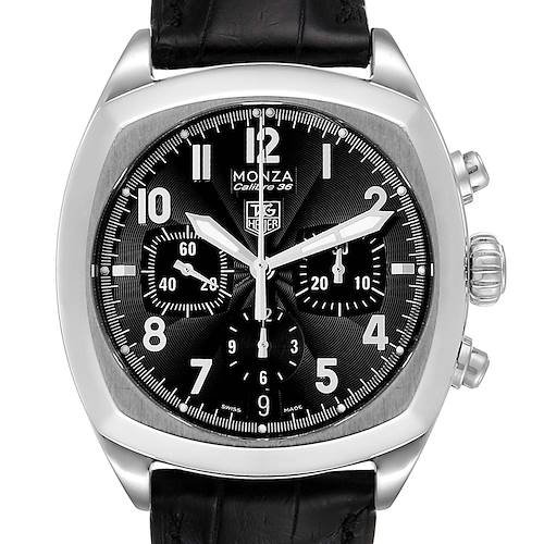Photo of Tag Heuer Monza Calibre 36 Chronograph Steel Mens Watch CR5110