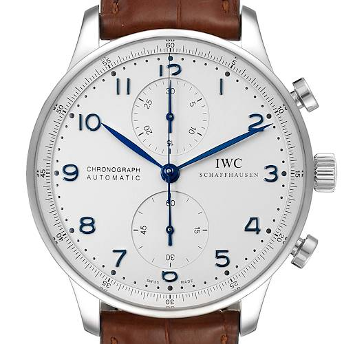 Photo of IWC Portuguese Chronograph Automatic Steel Mens Watch IW371417