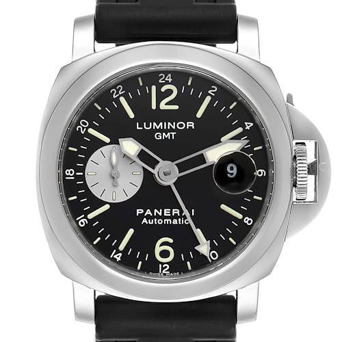 Photo of Panerai Luminor GMT Automatic Steel Mens Watch PAM00088