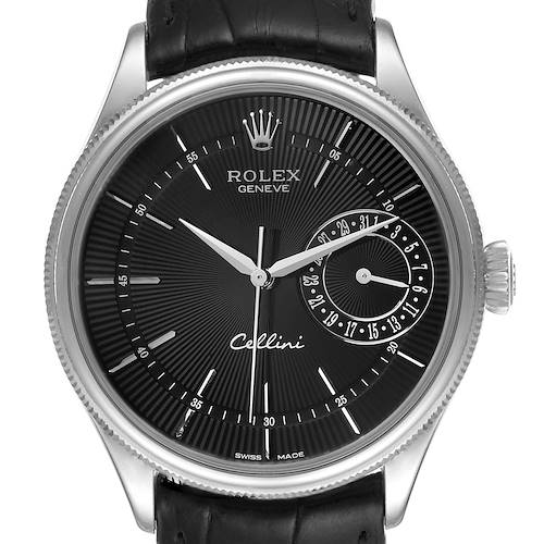 Photo of Rolex Cellini Date 18K White Gold Automatic Mens Watch 50519