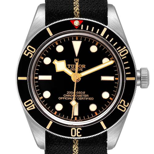 Photo of Tudor Heritage Black Bay Stainless Steel Mens Watch 79030 Box Papers