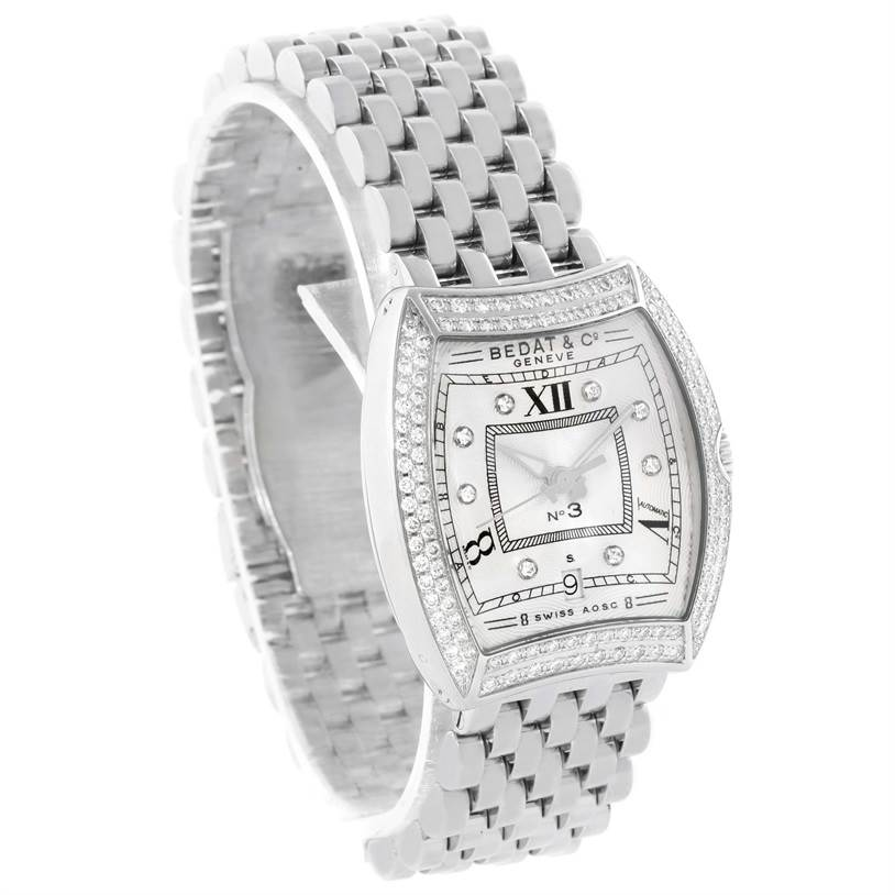 Bedat No 3 Ladies Stainless Steel Diamond Watch 314.031.109 SwissWatchExpo