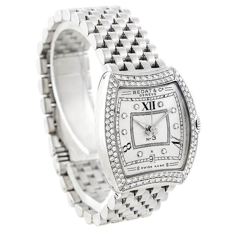 Bedat No 3 Ladies Stainless Steel Diamond Watch 314.031.109 SwissWatchExpo