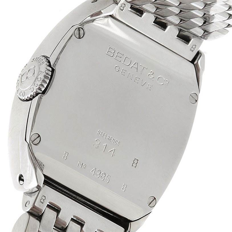 6610 Bedat No 3 Ladies Stainless Steel Diamond Watch 314.031.109 SwissWatchExpo