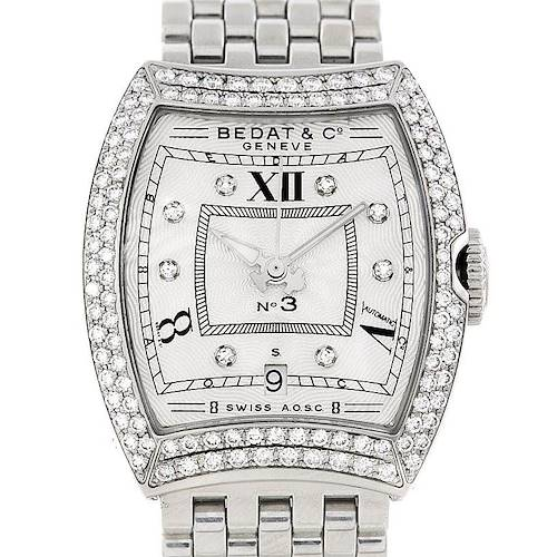 Photo of Bedat No 3 Ladies Stainless Steel Diamond Watch 314.031.109