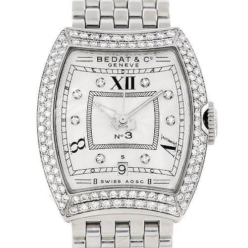 Photo of Bedat No 3 Ladies Stainless Steel Diamond Watch 314.031.109