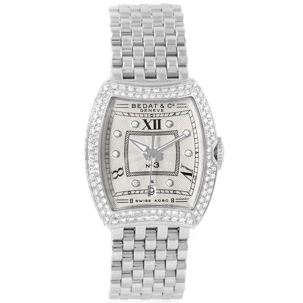 15521 Bedat No. 3 Stainless Steel Diamond Ladies Watch 314.051.109 SwissWatchExpo