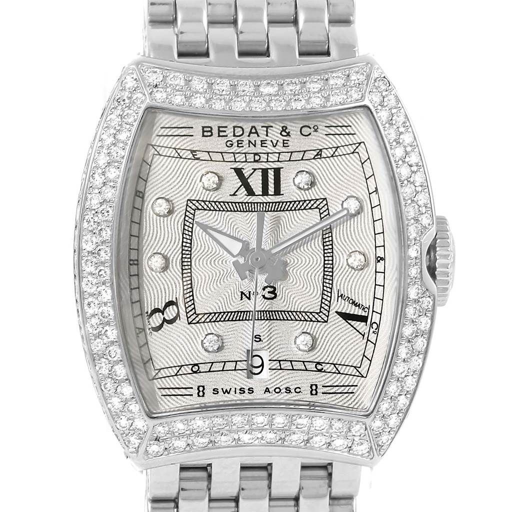 Photo of Bedat No. 3 Stainless Steel Diamond Ladies Watch 314.051.109