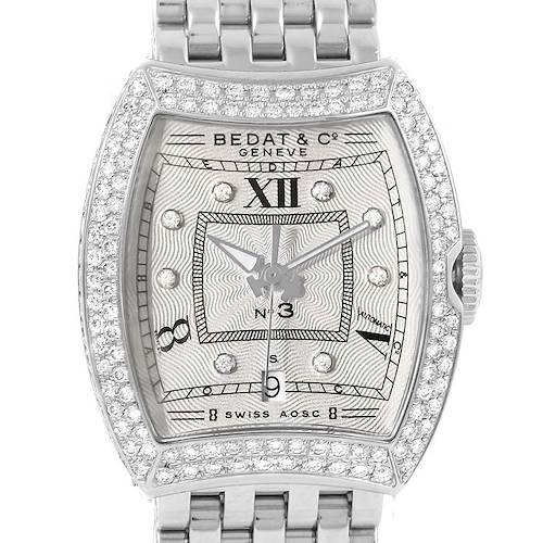 Photo of Bedat No. 3 Stainless Steel Diamond Ladies Watch 314.051.109