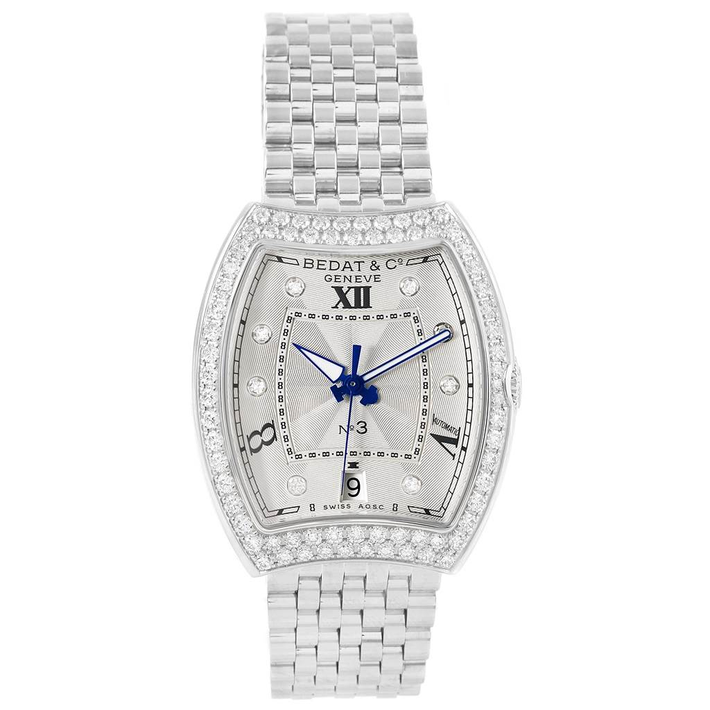 17652 Bedat No. 3 Stainless Steel Diamond Ladies Watch 315.071.109 Unworn SwissWatchExpo