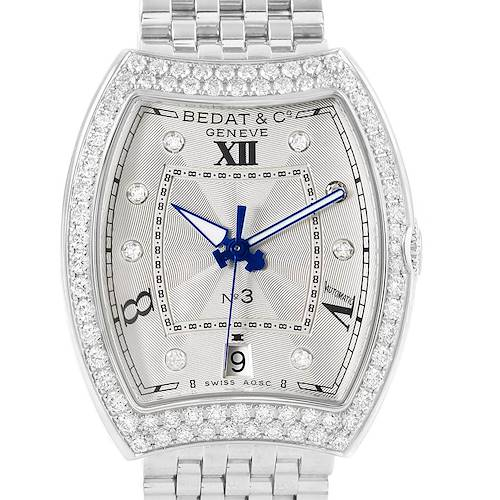 Photo of Bedat No. 3 Stainless Steel Diamond Ladies Watch 315.071.109 Unworn