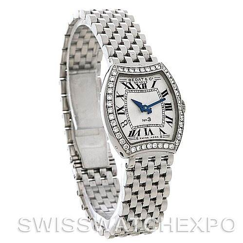4344 Bedat No. 3 Ladies Stainless Steel Diamond Watch 304.031.100 SwissWatchExpo