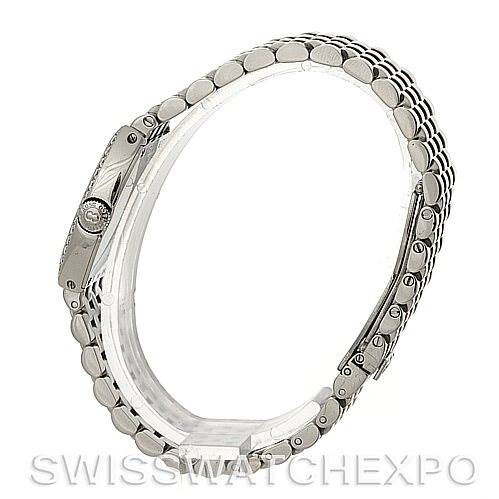 Bedat No. 3 Ladies Stainless Steel Diamond Watch 304.031.100 SwissWatchExpo
