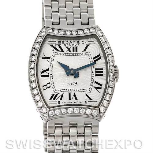 Photo of Bedat No. 3 Ladies Stainless Steel Diamond Watch 304.031.100