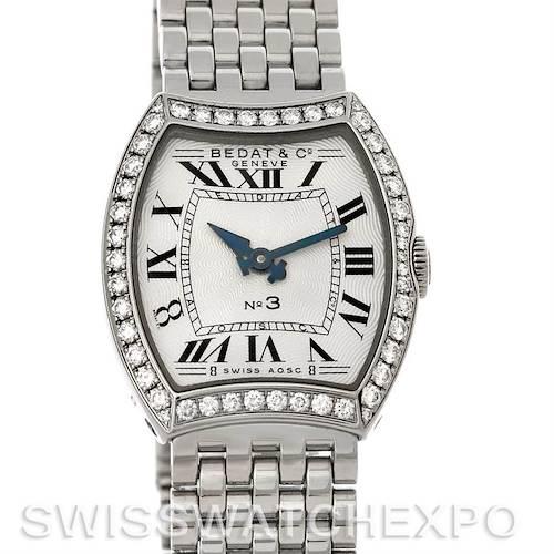 Photo of Bedat No. 3 Ladies Stainless Steel Diamond Watch 304.031.100