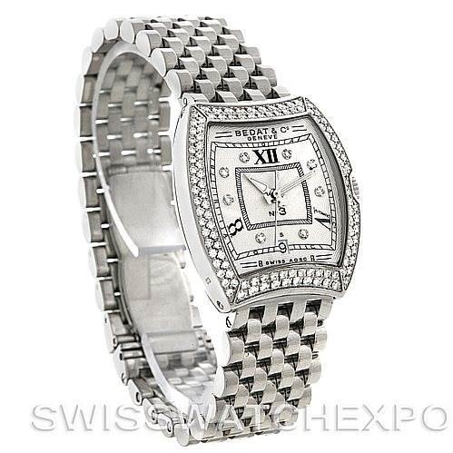 4527 Bedat No. 3 Ladies Stainless Steel Diamond Watch 314.031.109 SwissWatchExpo