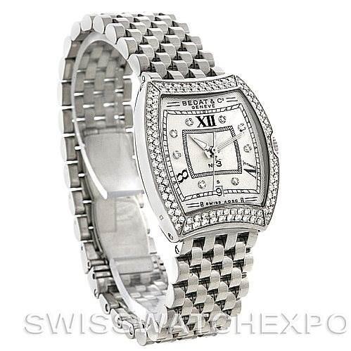 Bedat No. 3 Ladies Stainless Steel Diamond Watch 314.031.109 SwissWatchExpo