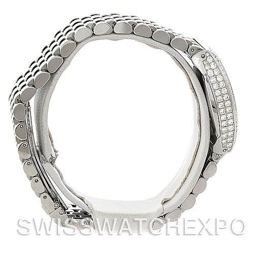 5306 Bedat No. 3 Ladies Stainless Steel Diamond Watch 314.051.109 SwissWatchExpo
