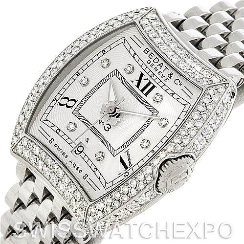 5306 Bedat No. 3 Ladies Stainless Steel Diamond Watch 314.051.109 SwissWatchExpo
