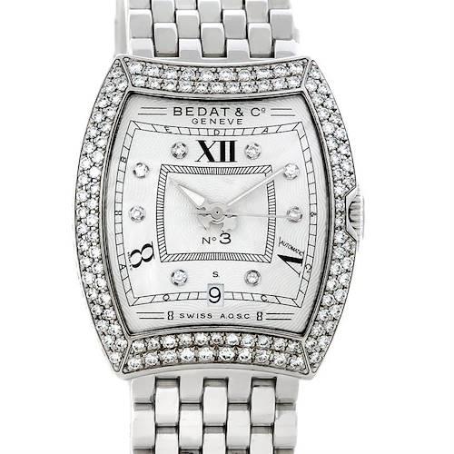 Photo of Bedat No. 3 Ladies Stainless Steel Diamond Watch 314.051.109
