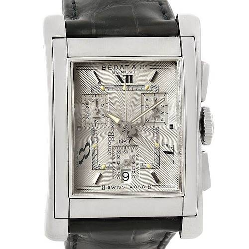 Photo of Bedat No 7 Stainless Steel Chronograph Watch 778.010.610