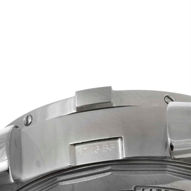 9949 Breitling Aeromarine Super Avenger Steel Rubber Strap Watch A13381 SwissWatchExpo