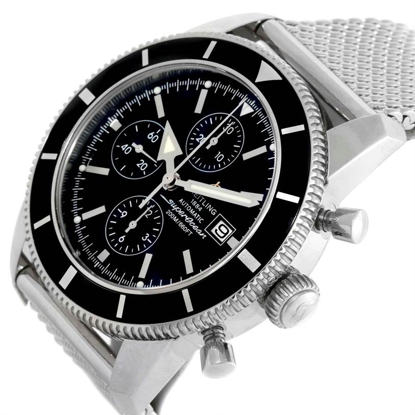 10079 Breitling SuperOcean Heritage Chrono 46 Chronograph Watch A13320 SwissWatchExpo