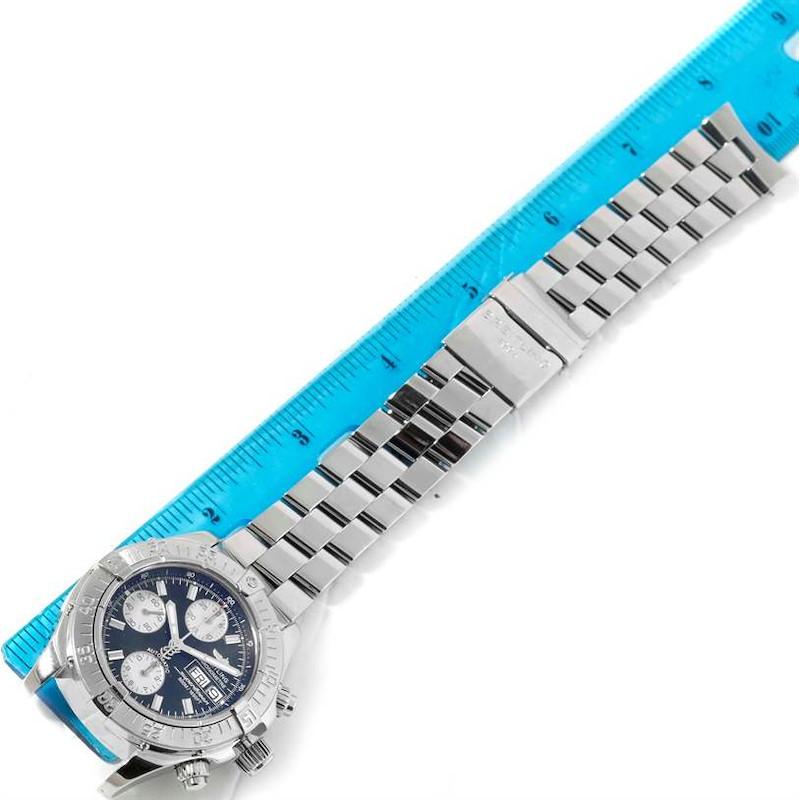 Breitling Aeromarine Superocean Chrono Black Dial Mens Watch A13340 SwissWatchExpo
