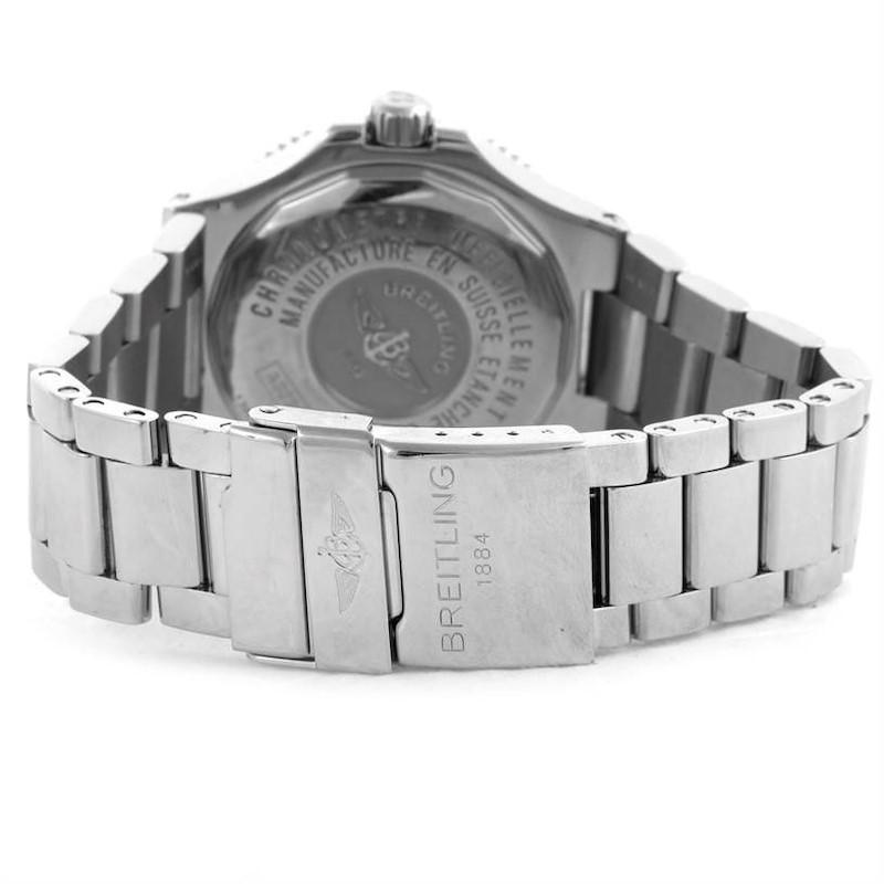 Breitling Aeromarine Superocean GMT Grey Dial Mens Watch A32380 SwissWatchExpo
