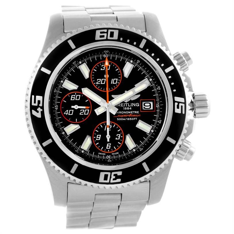 10532 Breitling Aeromarine SuperOcean Chronograph II Mens Watch A13341 SwissWatchExpo