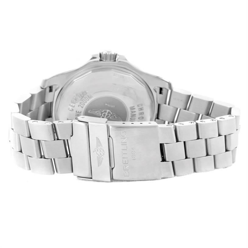 Breitling Aeromarine Superocean 44 Steel Mens Watch A17391 Box Papers SwissWatchExpo