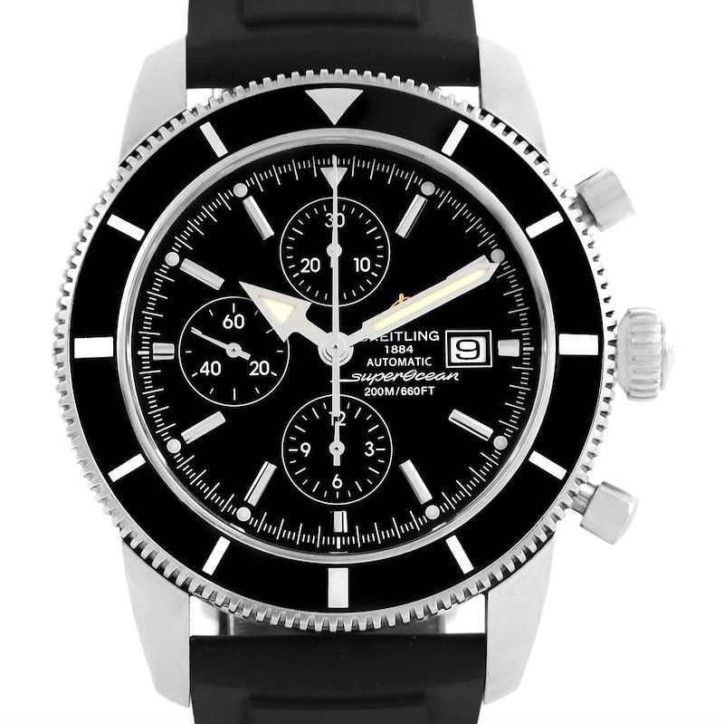 Breitling SuperOcean Heritage Chrono 46 Chronograph Watch A13320 SwissWatchExpo