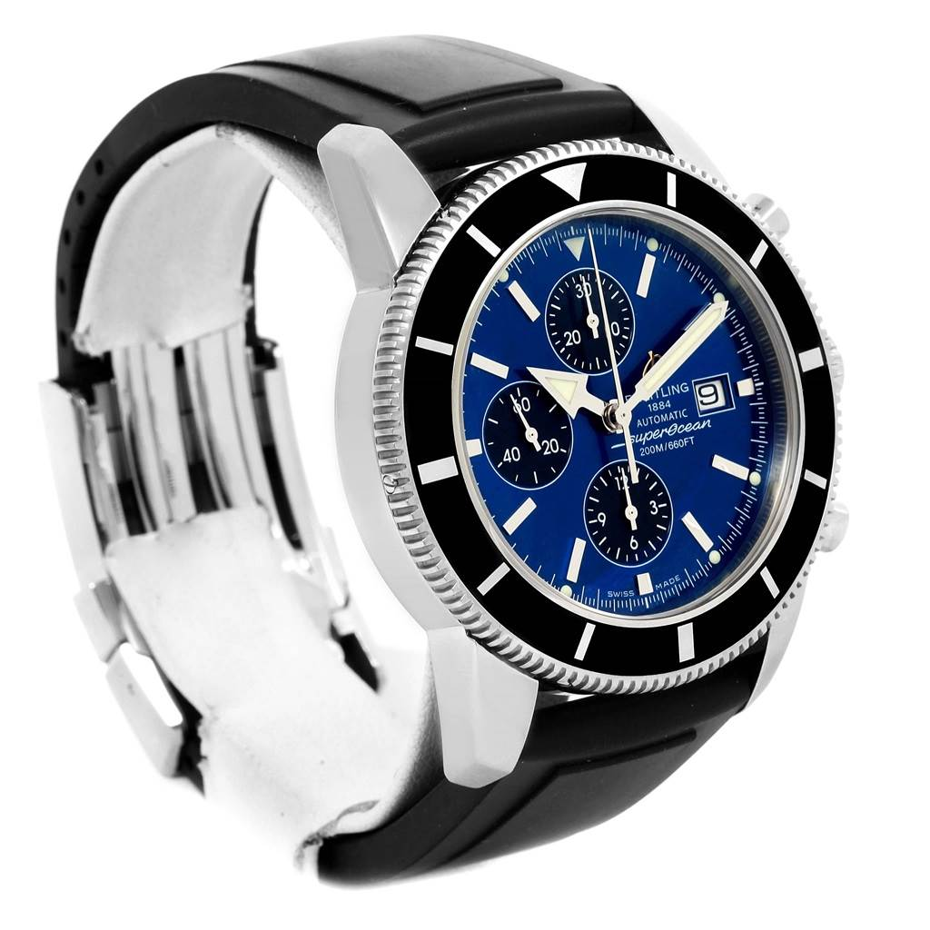 14794 Breitling SuperOcean Heritage Chrono 46 Watch A13320 Box Papers SwissWatchExpo