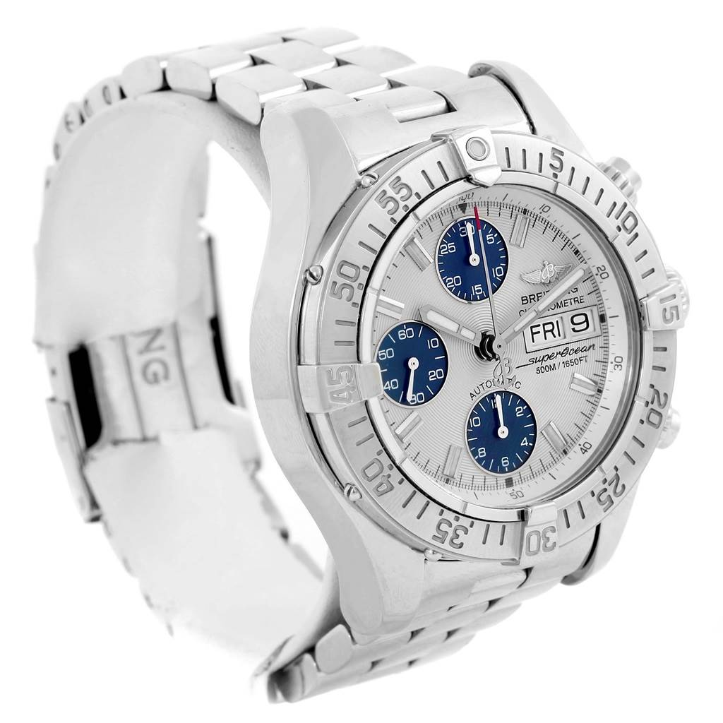 14862 Breitling Aeromarine Superocean Chronograph Mens Watch A13340 SwissWatchExpo
