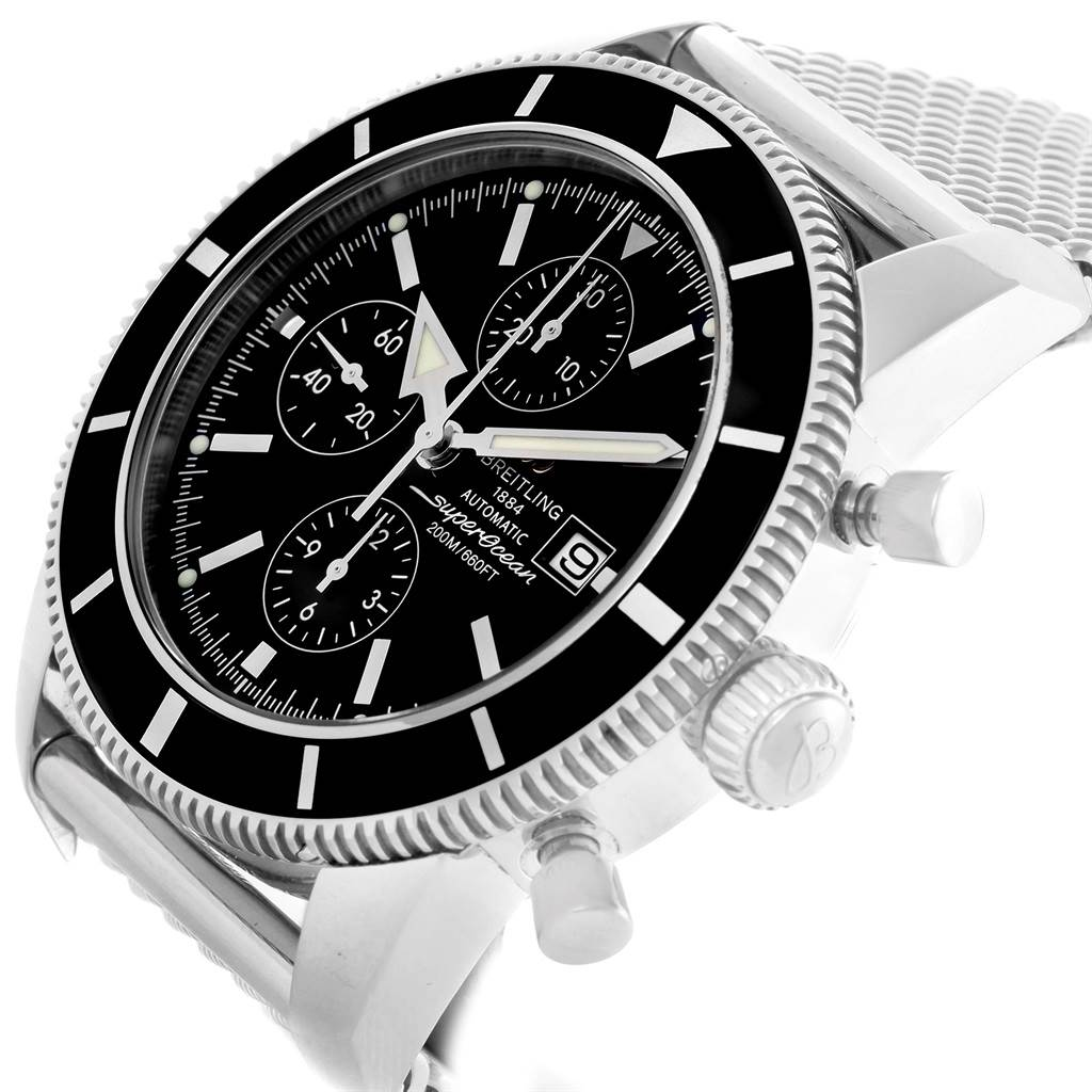 15191 Breitling SuperOcean Heritage Chrono 46 Watch A13320 Box Papers SwissWatchExpo