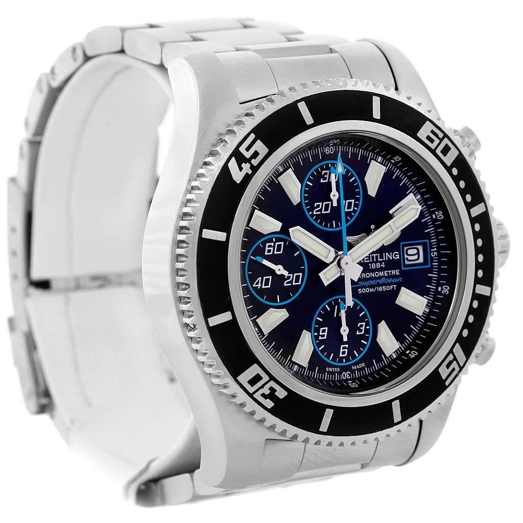 15223 Breitling Aeromarine SuperOcean Chronograph II Mens Watch A13341 SwissWatchExpo