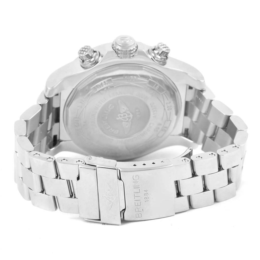 Breitling Aeromarine Super Avenger Diamond Mens Watch A13370 SwissWatchExpo