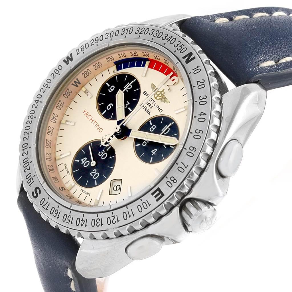Breitling Aeromarine Chrono Shark Yachting Mens Watch A53605 SwissWatchExpo