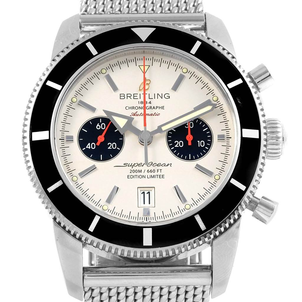 Breitling SuperOcean Heritage Chrono 125th Anniversary Watch A23370 SwissWatchExpo