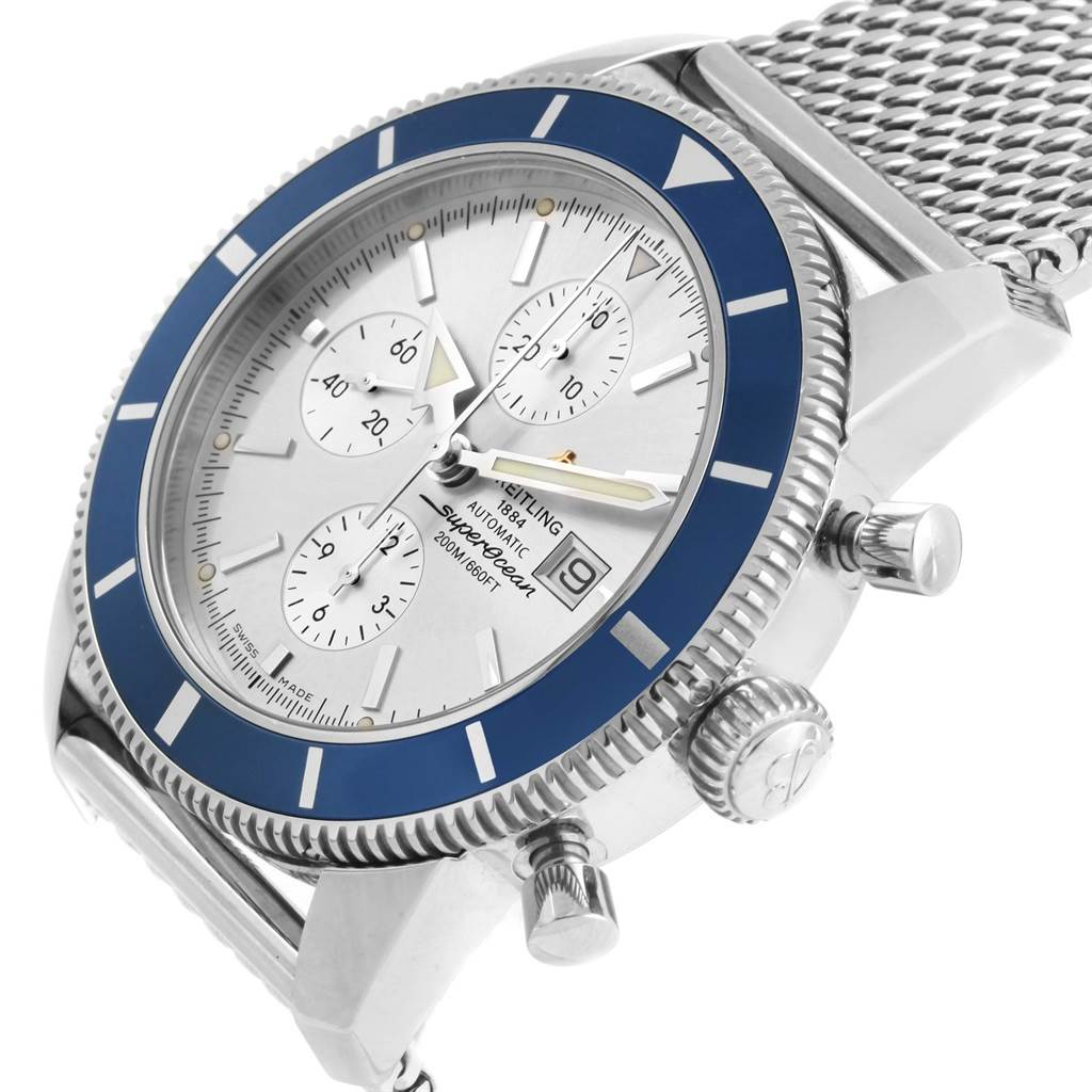 16645 Breitling SuperOcean Heritage Chrono 46 Watch A13320 Box Papers SwissWatchExpo