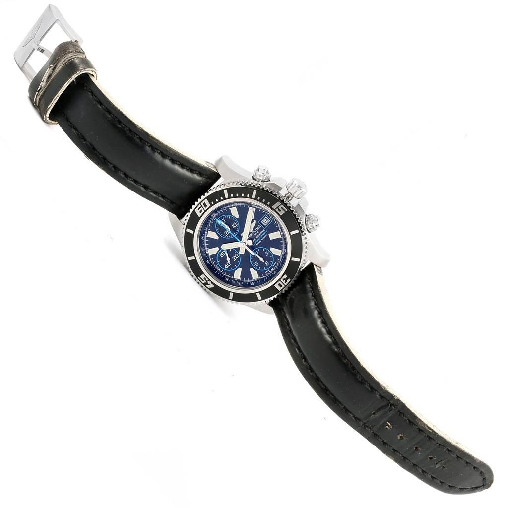 16843 Breitling Aeromarine SuperOcean Chronograph II Mens Watch A13341 SwissWatchExpo