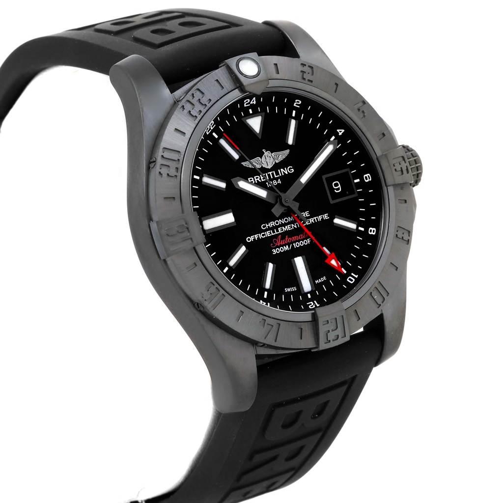 16999 Breitling Aeromarine Avenger II GMT Rubber Strap Watch M32390 SwissWatchExpo