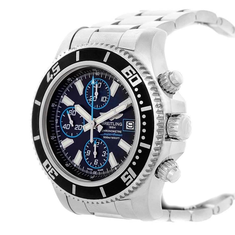 Breitling Aeromarine SuperOcean Chronograph II Watch A13341 Box SwissWatchExpo